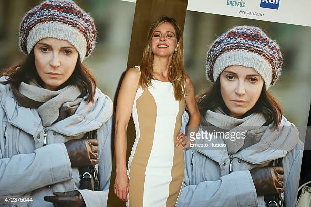 Elisabetta Pellini attends the 'Je Suis Ilan' premiere at Auditorium Della Conciliazione on May 6 2015 in Rome Italy