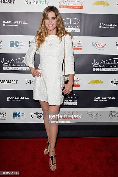 Elisabetta Pellini attends the Los Angeles Italia opening gala at TCL Chinese 6 Theatres on February 15 2015 in Hollywood California
