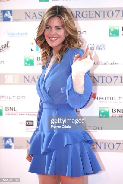 Elisabetta Pellini attends the nominees presentation of Nastri D'Argento at Maxxi Museum on June 6 2017 in Rome Italy