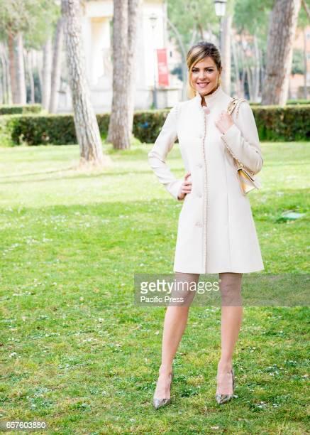 Elisabetta Pellini attends the photocall of 'La mia famiglia a soqquadro'