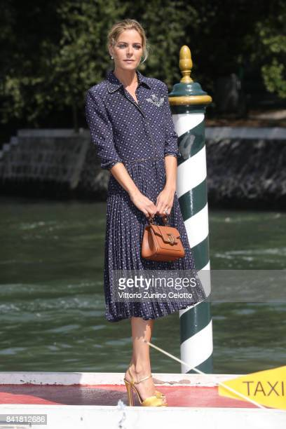 Elisabetta Pellini is seen during the 74th Venice Film Festival on September 2 2017 in Venice Italy
