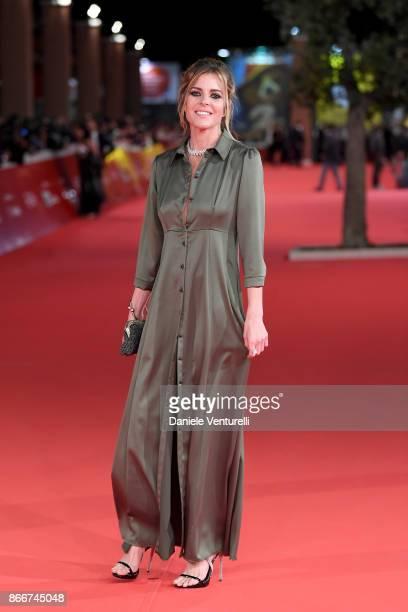 Elisabetta Pellini walks a red carpet for Hostiles during the 12th Rome Film Fest at Auditorium Parco Della Musica on October 26 2017 in Rome Italy