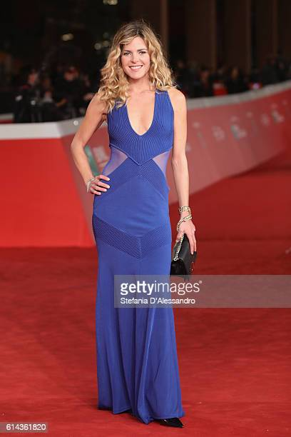 Elisabetta Pellini walks a red carpet for 'Moonlight' on October 13 2016 in Rome Italy