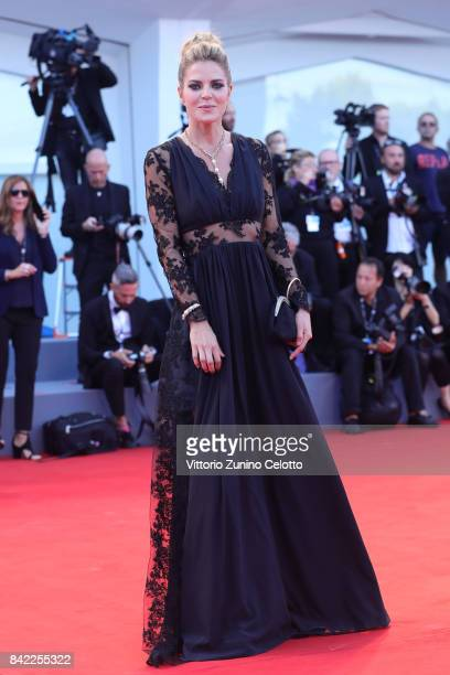 Elisabetta Pellini walks the red carpet ahead of the 'The Leisure Seeker ' screening during the 74th Venice Film Festival at Sala Grande on September...