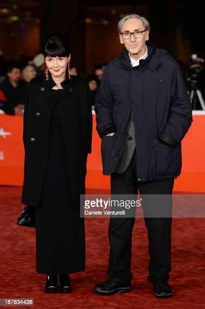Elisabetta Sgarbi and Franco Battiato attend attend 'Racconti D'Amore' Premiere during The 8th Rome Film Festival on November 12 2013 in Rome Italy