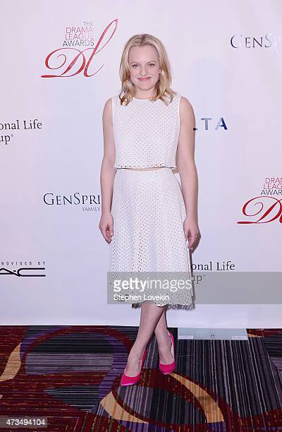 Elisaeth Moss attends the 81st Annual Drama League Awards And Luncheon at Marriot Marquis Times Square on May 15 2015 in New York City