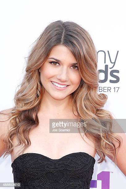 Elise Bauman attends VH1's 5th Annual Streamy Awards at Hollywood Palladium on September 17 2015 in Los Angeles California