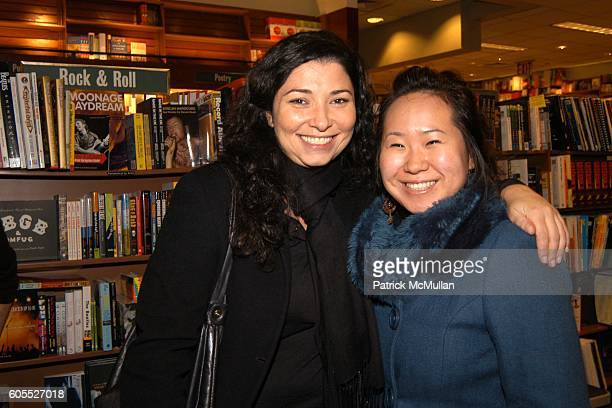 Elise Ialian and Clara Kim attend Matthew Modine Book Signing for FULL METAL JACKET DIARY at Barnes Noble Book Store on January 4 2006 in New York...