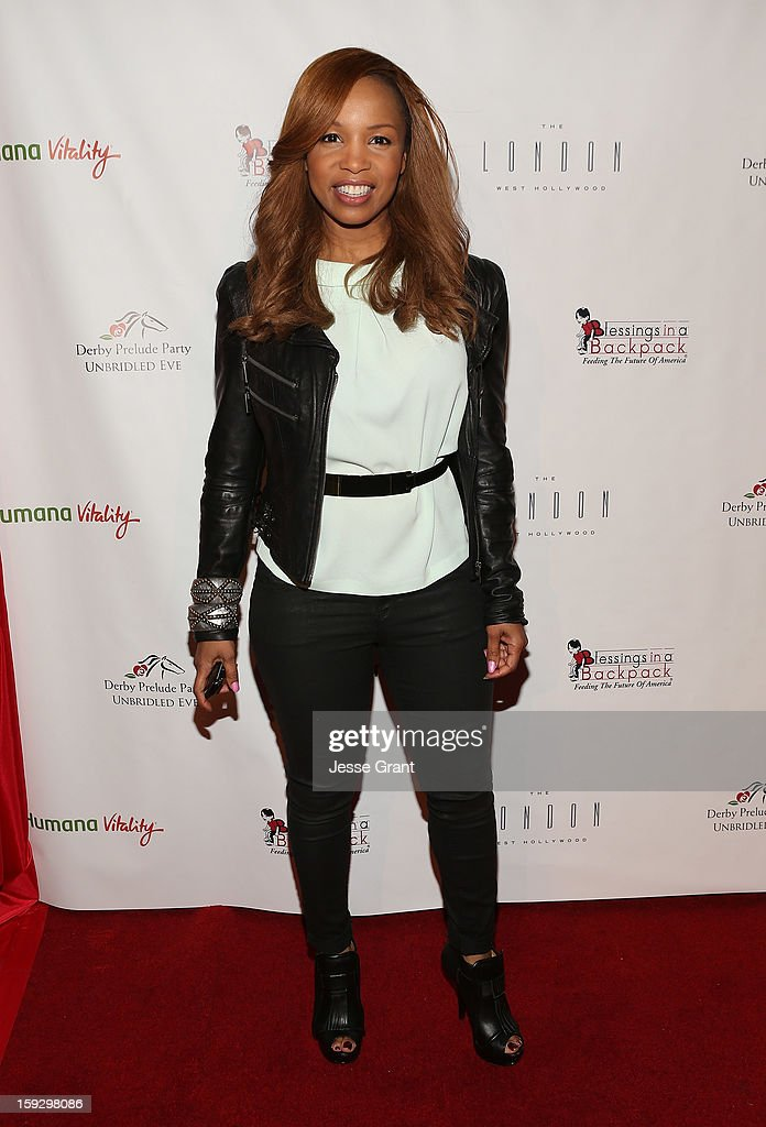 Elise Neal attends The 4th Annual Unbridled Eve Derby Prelude Party at The London West Hollywood on January 10, 2013 in West Hollywood, California.