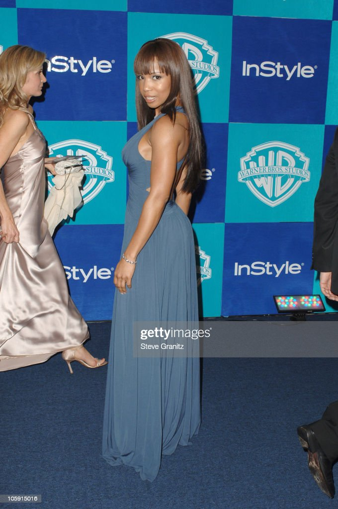 Elise Neal during InStyle Warner Bros 2006 Golden Globes After Party ...