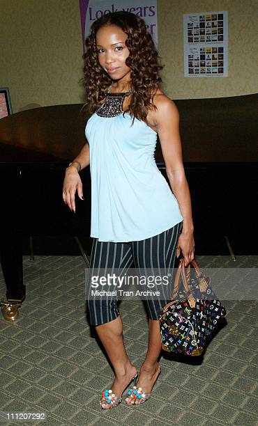 Elise Neal during Platinum Luxury Celebrity Gifting Suite at Le Meridien in Beverly Hills California United States