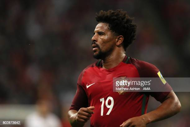 Eliseu of Portugal looks on during the FIFA Confederations Cup Russia 2017 SemiFinal match between Portugal and Chile at Kazan Arena on June 28 2017...