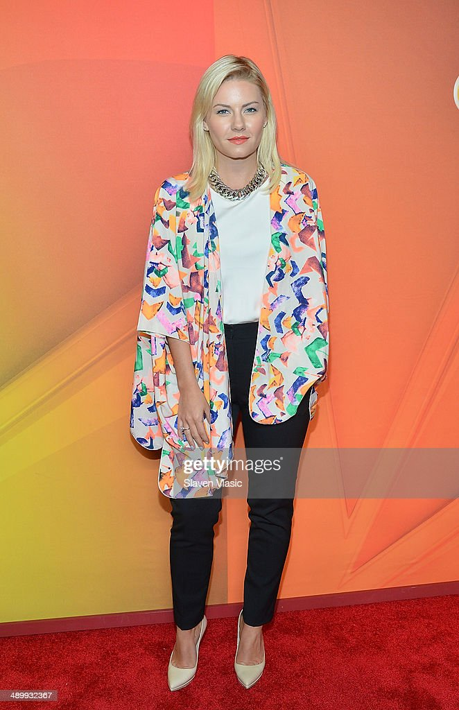 Elisha Cuthbert attends the 2014 NBC Upfront Presentation at The Jacob K. Javits Convention Center on May 12, 2014 in New York City.