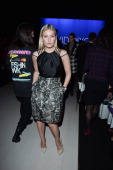 Elisha Cuthbert attends World MasterCard Fashion Week Spring 2014 Collections at David Pecaut Square on October 21 2013 in Toronto Canada