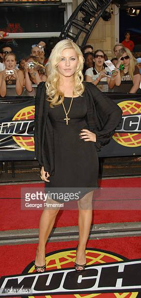 Elisha Cuthbert during 17th Annual MuchMusic Video Awards Red Carpet at Chum/City Building in Toronto Ontario Canada
