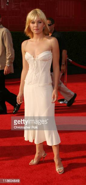 Elisha Cuthbert during 2003 ESPY Awards Arrivals at Kodak Theatre in Hollywood California United States