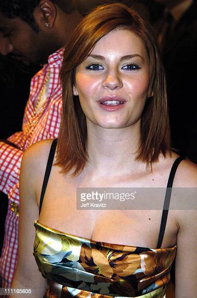Elisha Cuthbert during 2004 MTV European Music Awards Red Carpet at Torr di Valle in Rome Italy