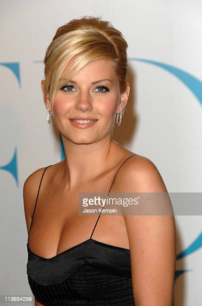 Elisha Cuthbert during 2007 CFDA Fashion Awards Red Carpet at New York Public Library in New York City New York United States