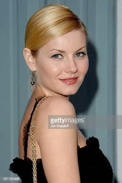 Elisha Cuthbert during 2007/2008 Chanel Cruise Show Presented by Karl Lagerfeld at Hangar 8 in Santa Monica California United States