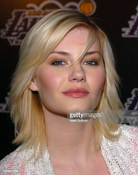 Elisha Cuthbert during 2nd Annual Lakers Casino Night Benefiting the Lakers Youth Foundation Arrivals at Barker Hanger in Santa Monica California...