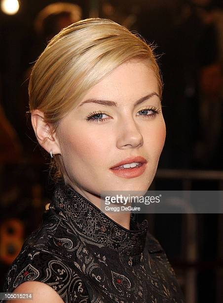 Elisha Cuthbert during '8 Mile' Westwood Premiere at Mann Village Theatre in Westwood California United States