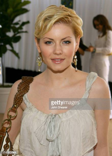 Elisha Cuthbert during Coach Fragrance Launch to Benefit EBMRF in Los Angeles California United States