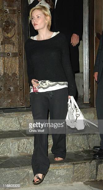 Elisha Cuthbert during Elisha Cuthbert Sighting at Koi April 26 2007 at Koi in Los Angeles United States