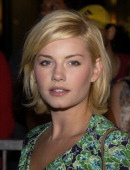 Elisha Cuthbert during Express Flagship Store Opening Arrivals at Hollywood Highland Shopping Center in Hollywood California United States