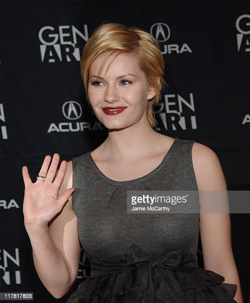 "Elisha Cuthbert during GenArt Film Festival Closing Night Featuring ""He Was A Quiet Man"" at Clearview Chelsea West Theater in New York City New York..."