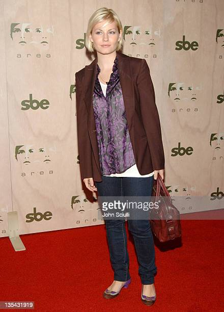 Elisha Cuthbert during Grand Opening of SBE's AREA Nightclub Arrivals at Area in Hollywood California United States