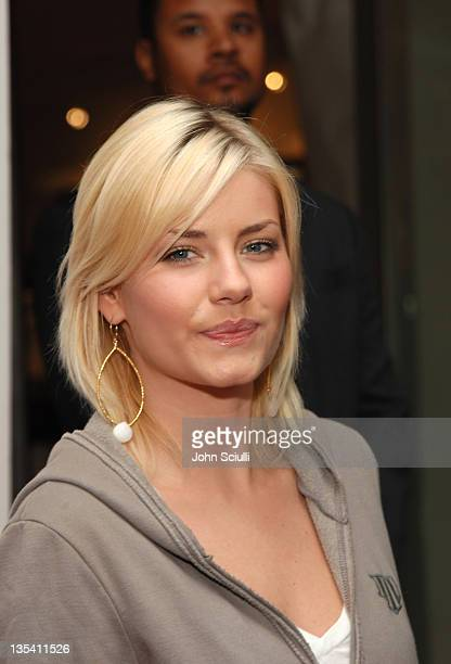 Elisha Cuthbert during Justin Timberlake and Trace Ayala in Celebration of Their New Clothing Line 'William Rast' Launch at Kiston in Los Angeles...