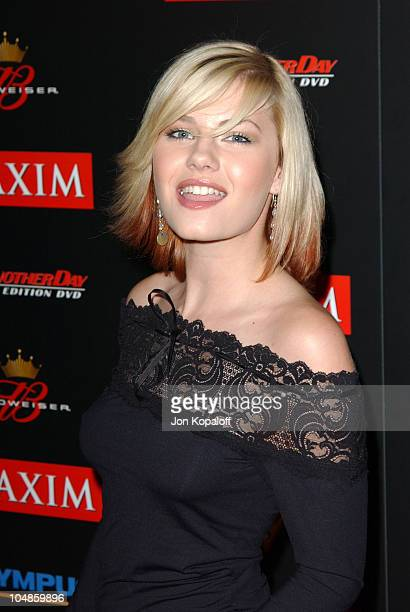 Elisha Cuthbert during Maxim Magazine's Annual Hot 100 Party at 1400 Ivar in Hollywood CA United States