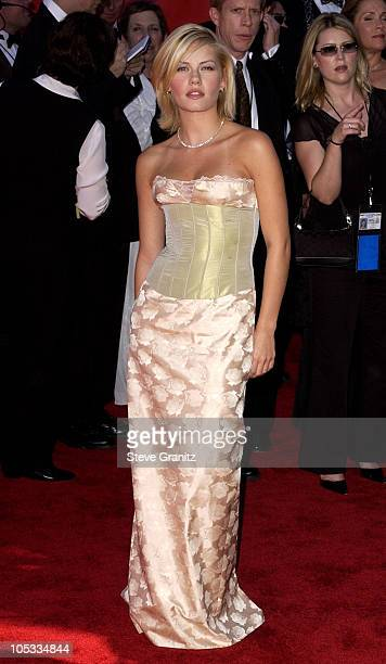 Elisha Cuthbert during The 54th Annual Primetime Emmy Awards Arrivals at The Shrine Auditorium in Los Angeles California United States
