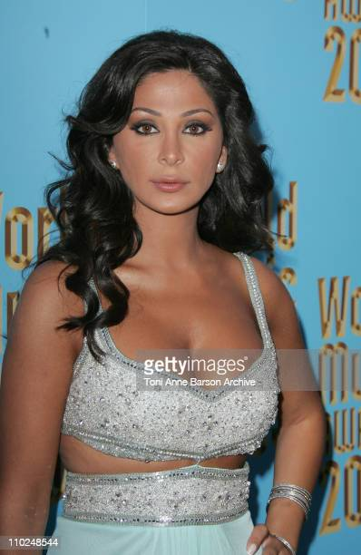 Elissa during 2005 World Music Awards Red Carpet at Kodak Theatre in Los Angeles CA United States