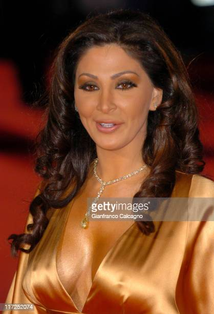 Elissa during 2006 World Music Awards Red Carpet Arrivals at Earls Court in London Great Britain