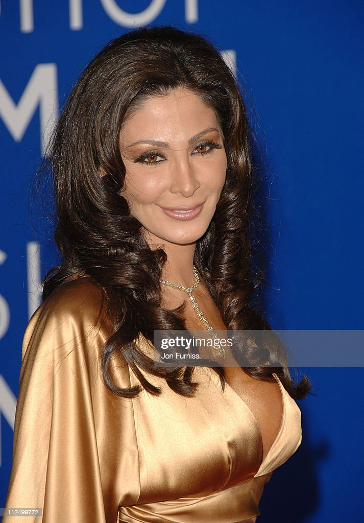Elissa during World Music Awards 2006 - Inside Arrivals at Earls Court in London, United Kingdom.