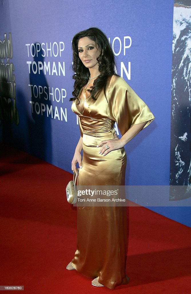 <a gi-track='captionPersonalityLinkClicked' href=/galleries/search?phrase=Elissa&family=editorial&specificpeople=641088 ng-click='$event.stopPropagation()'>Elissa</a> during World Music Awards 2006 - Red Carpet Inside Arrivals at Earls Court in London, Great Britain.