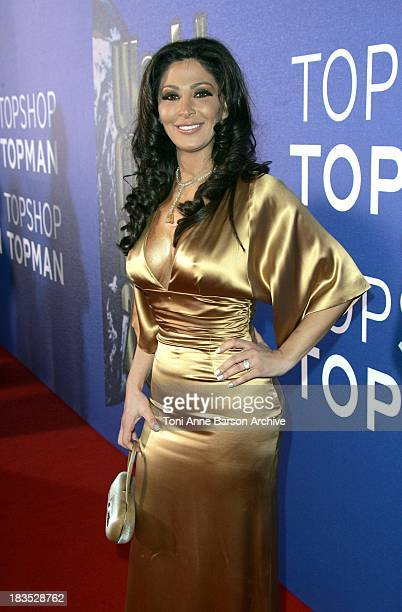 Elissa during World Music Awards 2006 Red Carpet Inside Arrivals at Earls Court in London Great Britain