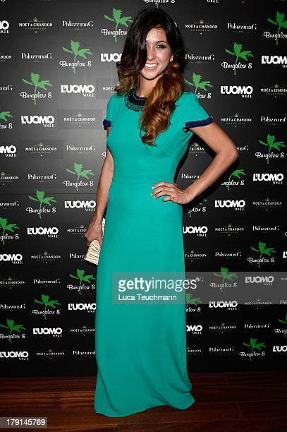 Elissa Shay attends Bungalow 8 James Franco Venice Film Festival Premiere Party for Child of God and Palo Alto during the 70th Venice International...