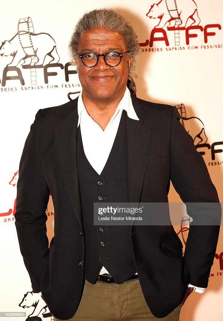 Elivis Mitchell attends The 2nd Annual Los Angeles Turkish Film Festival Opening at the Egyptian Theatre on February 28, 2013 in Hollywood, California.