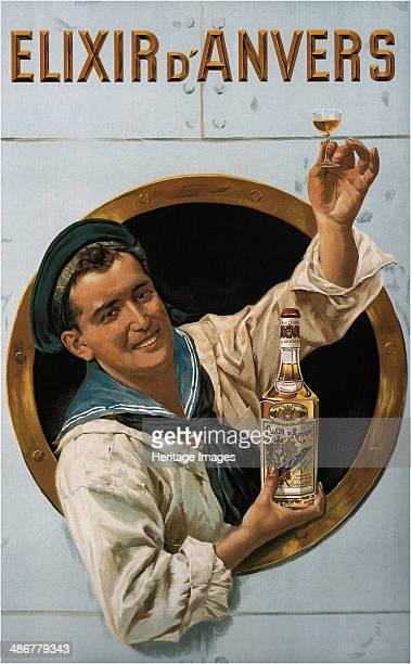 Elixir d'Anvers 1906 Artist Portielje Gerard