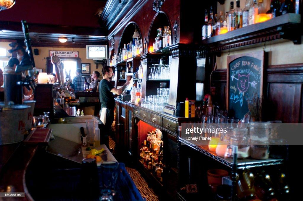 Elixir Saloon.