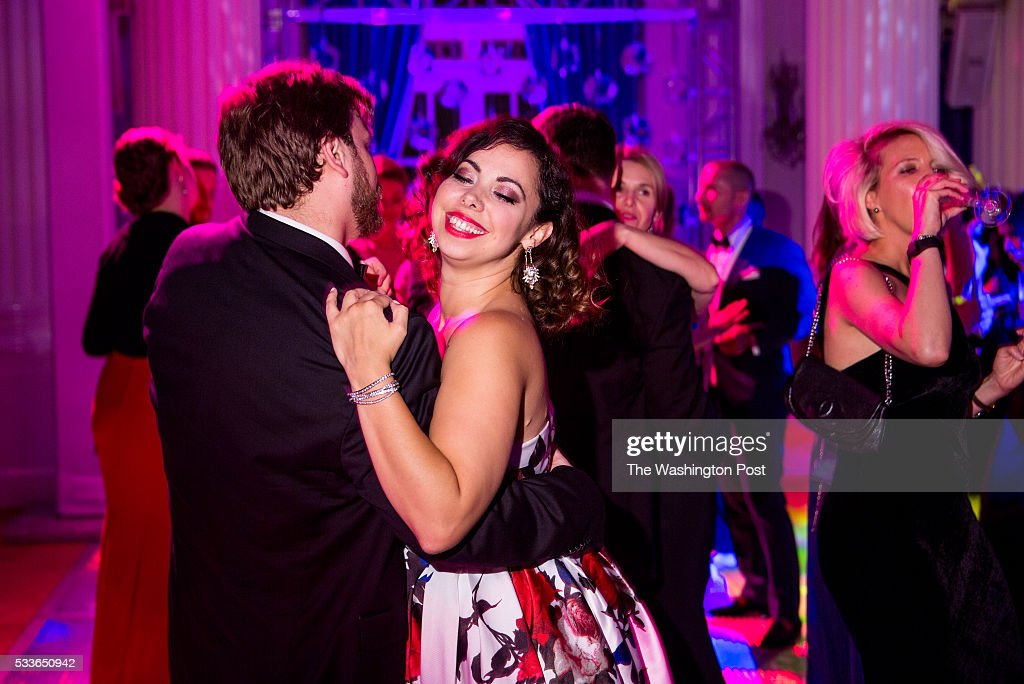 Eliza Bonet dances with Hunter Enoch at the Washington National Opera (WNO) Ball at the Organization of American States on Saturday, May 21, 2016. The annual Ball celebrated the WNO's 60th anniversary season.