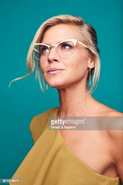 Eliza Coupe of Hulu's 'Future Man' poses for a portrait during the 2017 Summer Television Critics Association Press Tour at The Beverly Hilton Hotel...