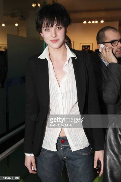 Eliza Cummings attends FOTORELIEF and A Milk Gallery Project organizes A Picture Saves A Thousand Lives at Milk Gallery on March 18 2010 in New York