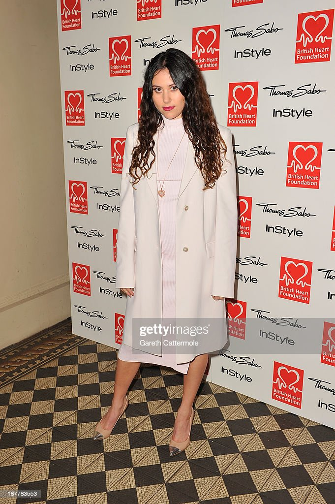 Eliza Dolittle attends the Tunnel of Love fundraiser in aid of the British Heart Foundation at One Mayfair on November 12, 2013 in London, England.
