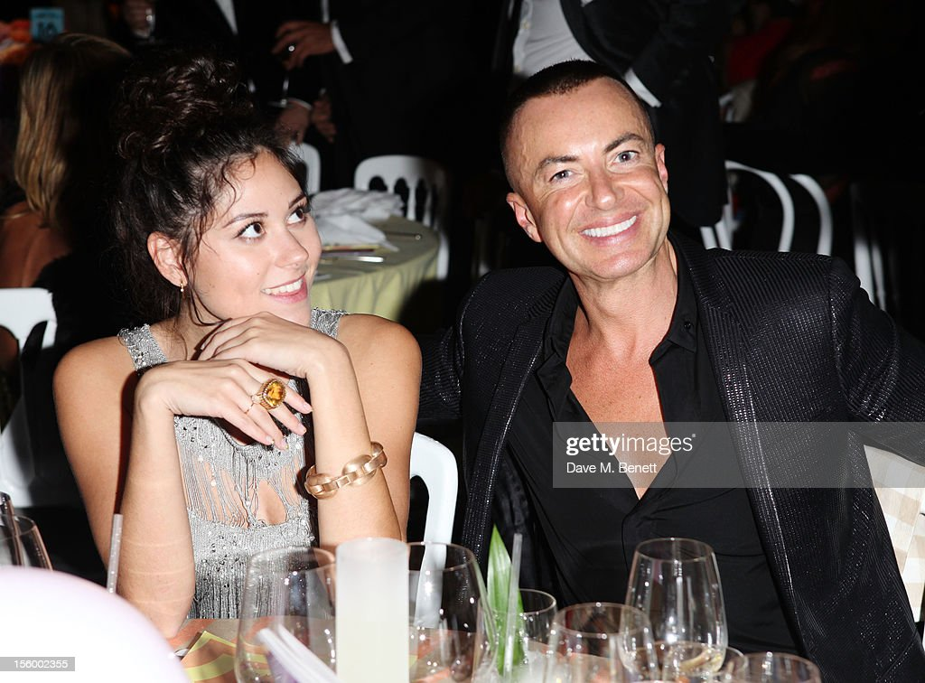 Eliza Doolittle and Julien Macdonald attend the Grey Goose Winter Ball at Battersea Power Station on November 10, 2012 in London, England.
