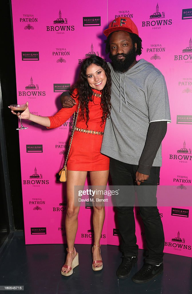 Eliza Doolittle and Tamine attend the party hosted by Browns Focus & Designer Brian Lichtenberg to officially launch the NEW Browns Focus at 24 South Molton Street on September 14, 2013 in London, United Kingdom.