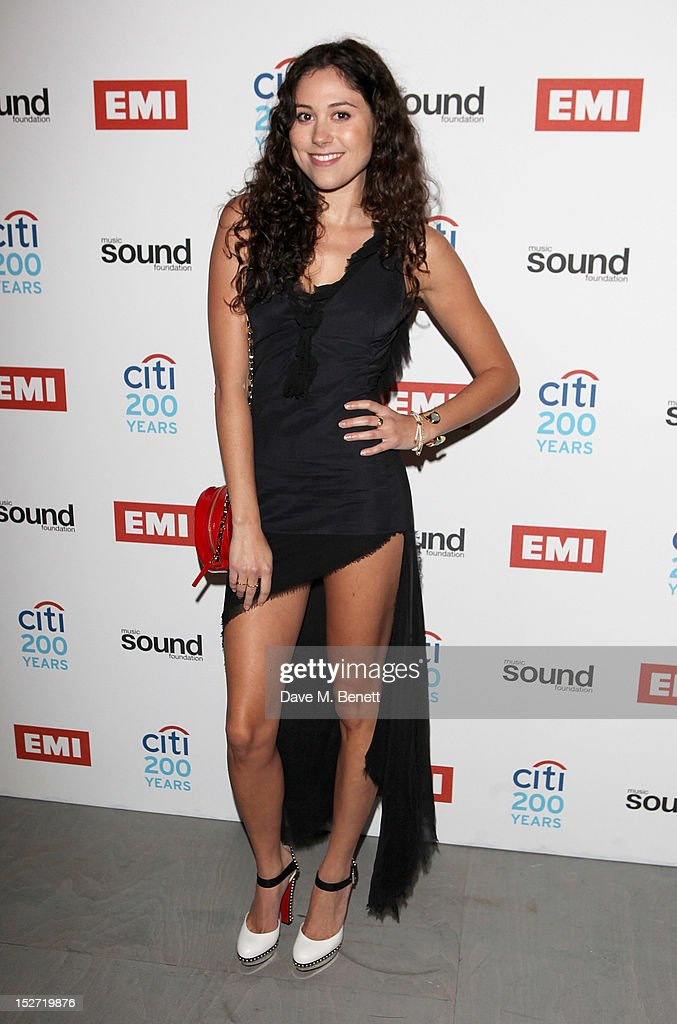Eliza Doolittle arrives at the EMI Music Sound Foundation fundraiser at Somerset House on September 24, 2012 in London, England.