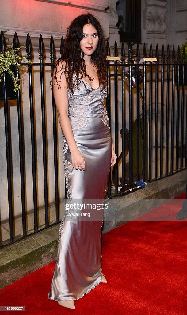 Eliza Doolittle attends a gala dinner hosted by the BFI ahead of the London Film Festival at 8 Northumberland Avenue on October 8, 2013 in London, England.